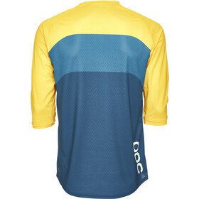 POC Essential Enduro 3/4 Light Jersey Herre sulphite multi yellow